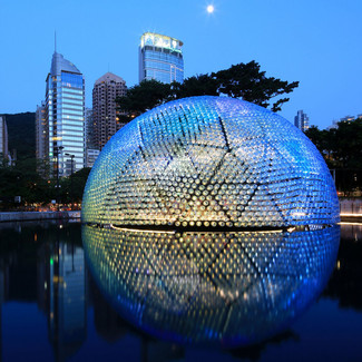 Rising Moon Pavilion by Daydreamers Design, fot.: TAM Raymond