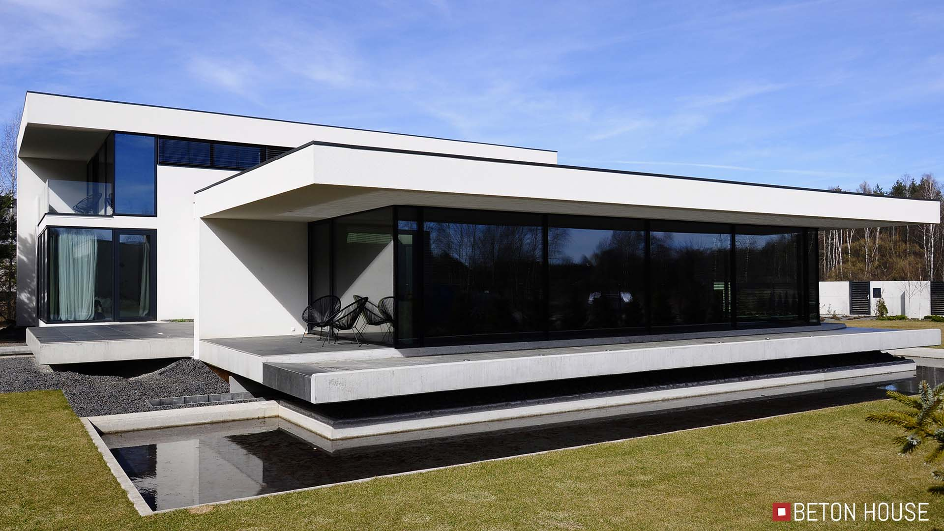 Glass House Architekt Seweryn Nogalski Beton House