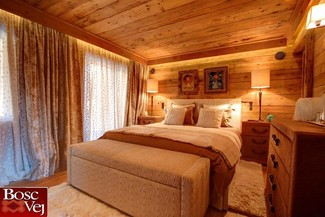 Wn trza chalet willa w stylu rustykalnym - Camere da letto di montagna ...
