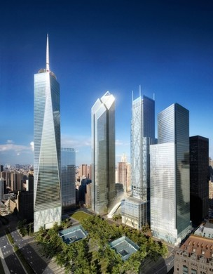 200 Greenwich Street, Projekt: Foster and Partners