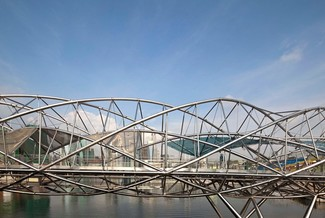 The Helix Bridge, architekt: Cox Rayner Architects 