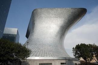 Muzem Soumaya w Meksyku projektu FREE Fernando Romero Enterprise