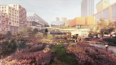 Towarowa 22, projekt: Bjarke Ingels Group