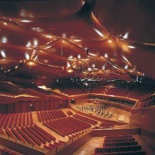 Architektura renzo piano auditorium parco della musica for Auditorium parco della musica sala santa cecilia