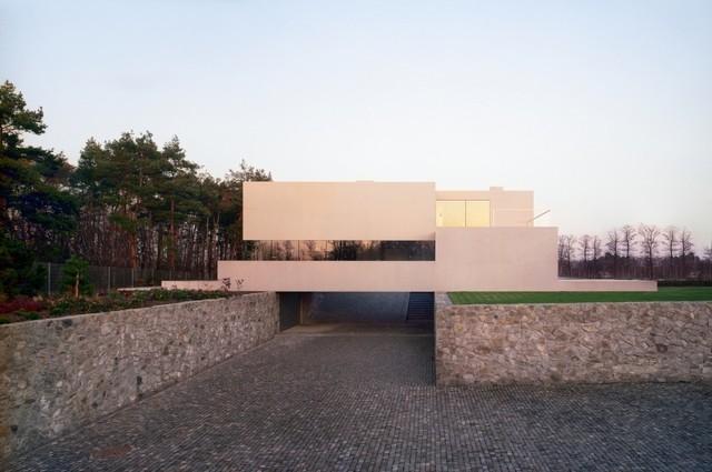 Architektura robert konieczny dom aatrialny for Case di architettura spagnola