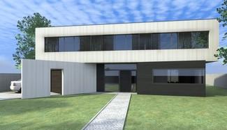 Projekt domu (źródło: Architektura.info)